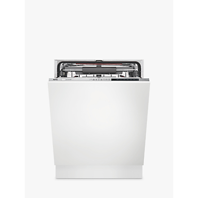 AEG FSE83710P Integrated Dishwasher, Stainless Steel