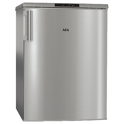 AEG ATB81121AX Freestanding Undercounter Freezer, A++ Energy Rating, 60cm Wide, Silver Review thumbnail