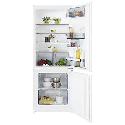 AEG SCB51421LS Integrated Fridge Freezer, A++ Energy Rating, 60cm Wide, White