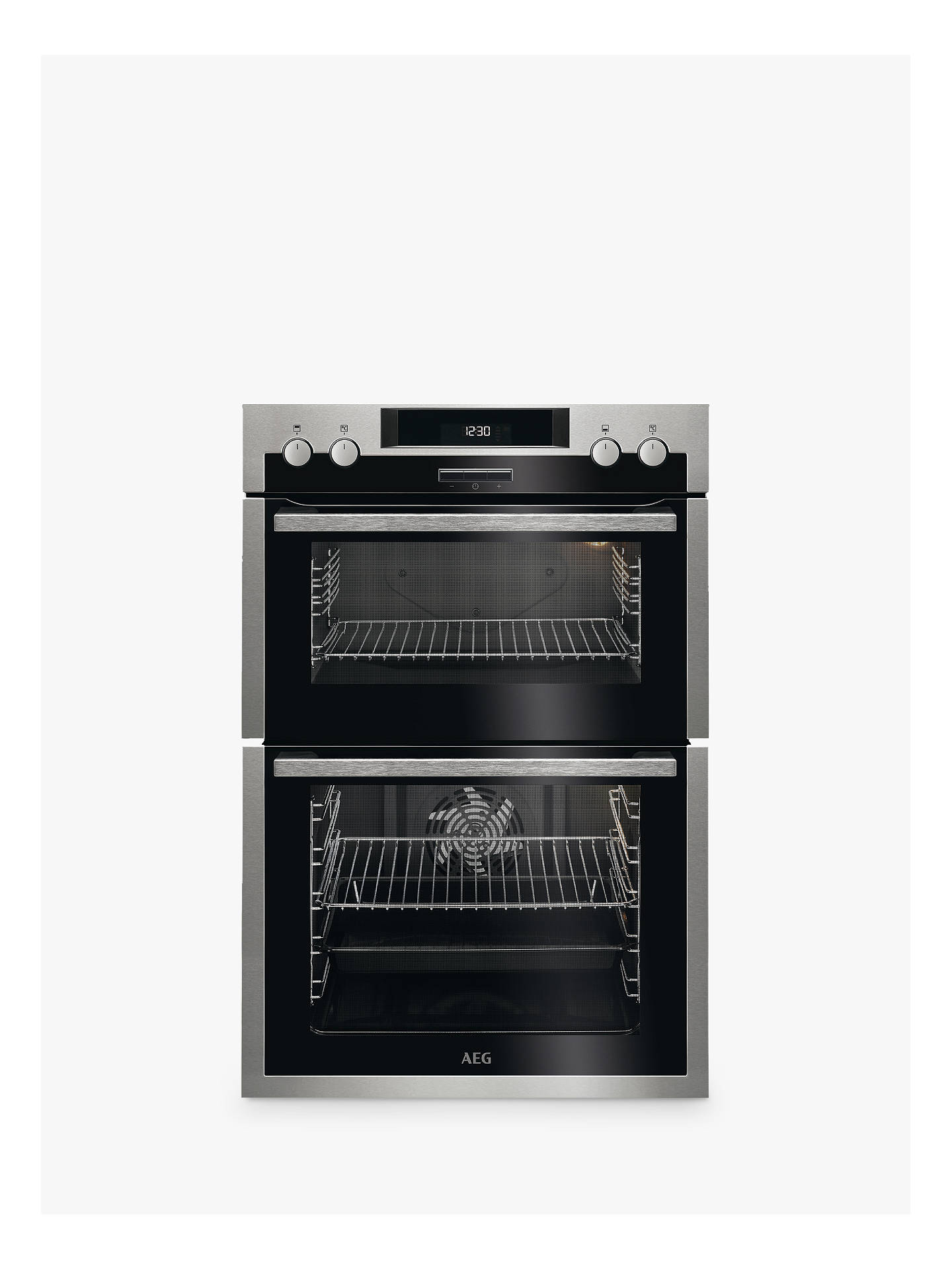 BuyAEG DCS431110M Built-In Multifunction Double Electric Oven, Stainless Steel Online at johnlewis.com