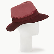 Buy Unmade Dip Dye Wool Felt Trilby Hat Online at johnlewis.com