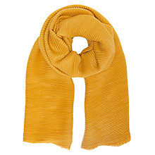 Buy Unmade Plisse Scarf Online at johnlewis.com