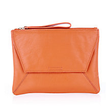 Buy Oasis Dex Leather Clutch Bag Online at johnlewis.com
