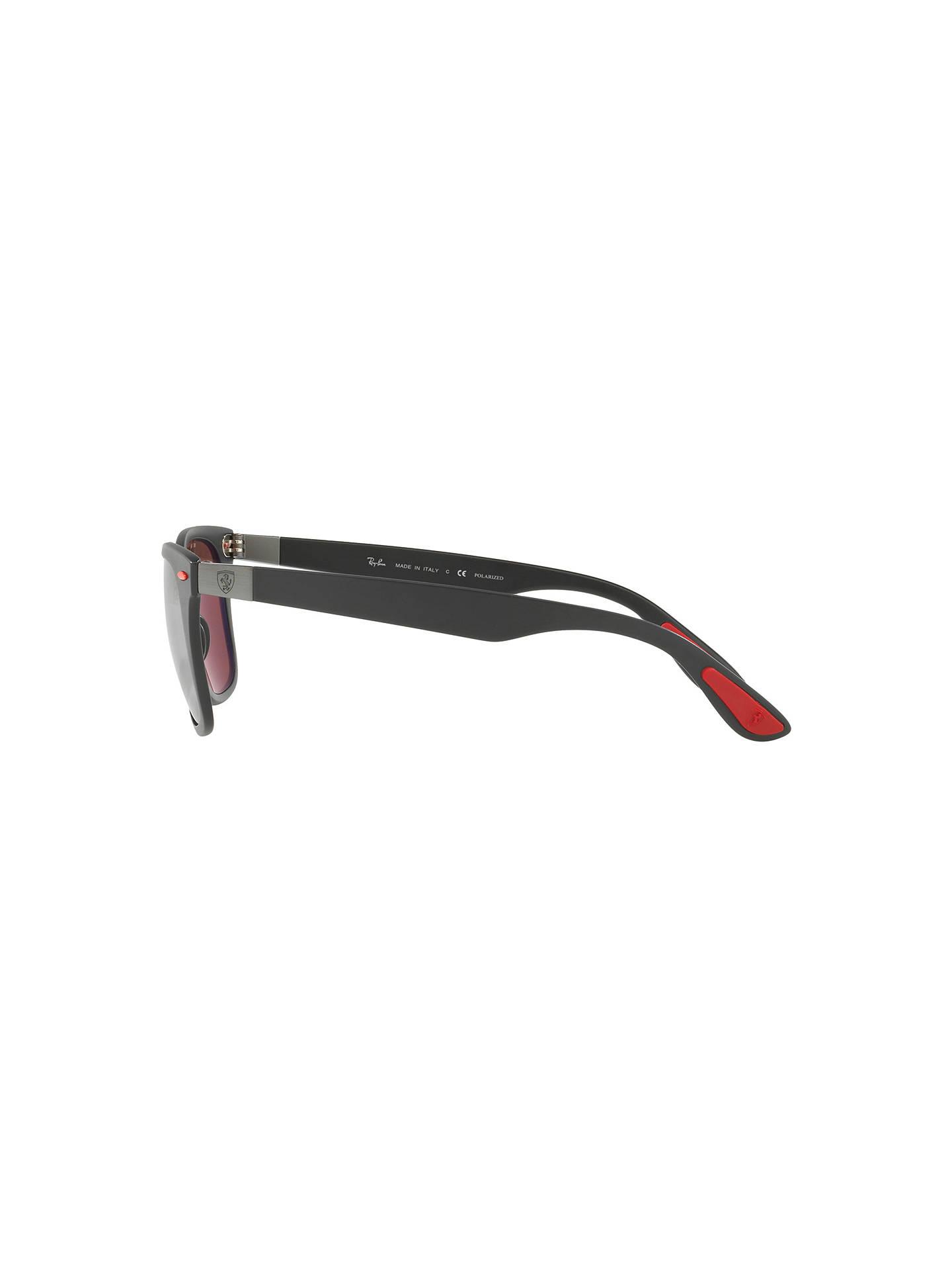 e6dcd91d0d41 ... Buy Ray-Ban RB4195M Polarised Scuderia Ferrari Wayfarer Sunglasses
