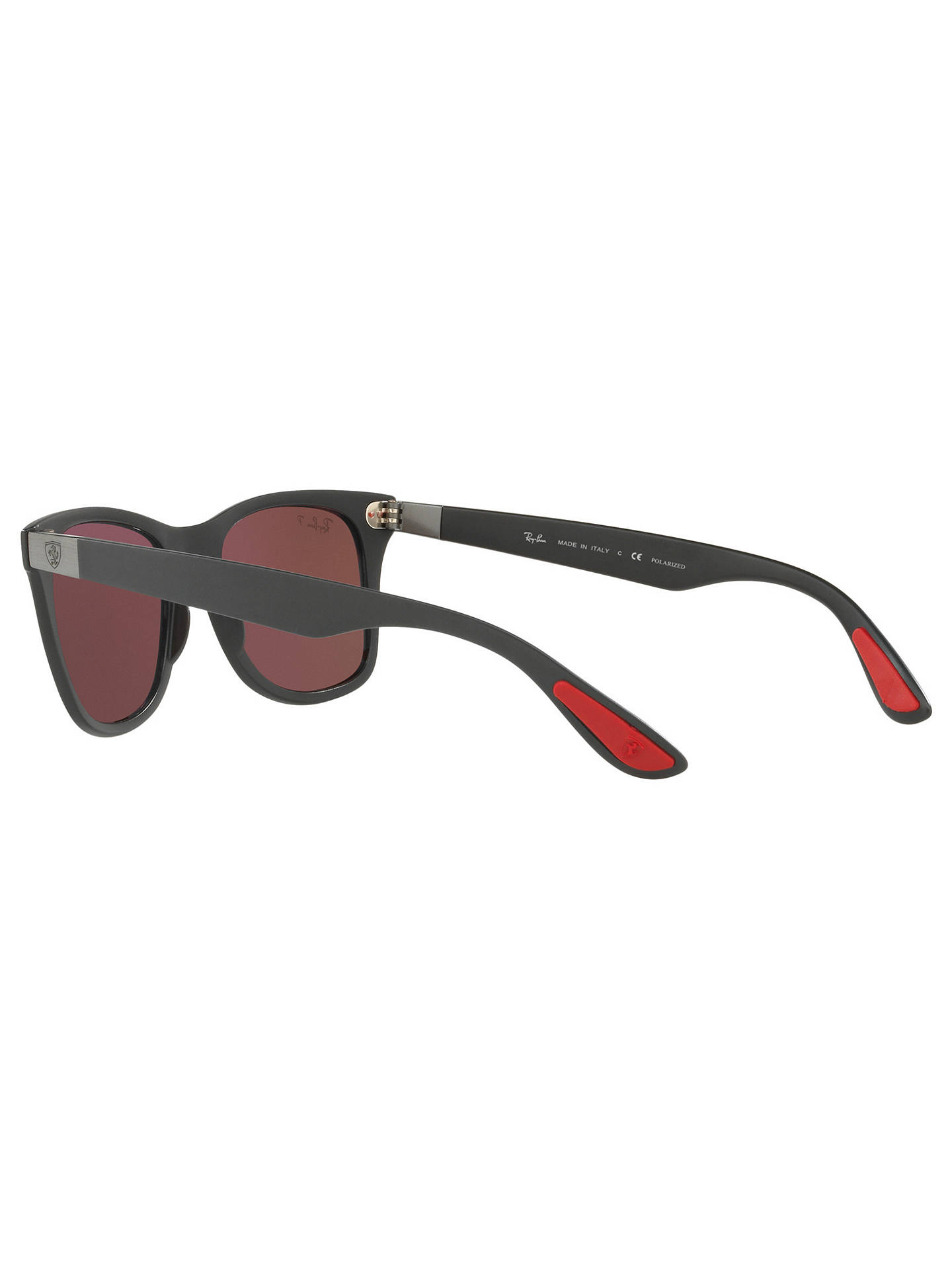 addf462216d Ray-Ban RB4195M Polarised Scuderia Ferrari Wayfarer Sunglasses at ...