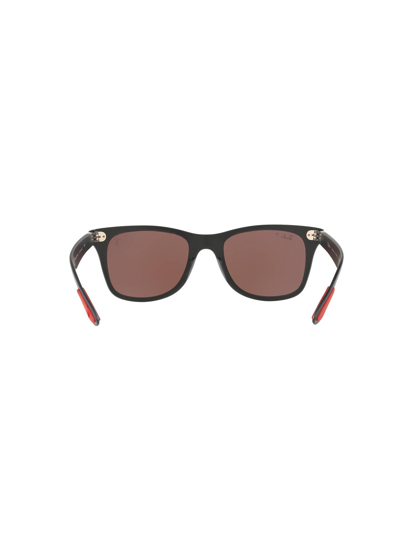 7d8ac1f4e9 ... Buy Ray-Ban RB4195M Polarised Scuderia Ferrari Wayfarer Sunglasses
