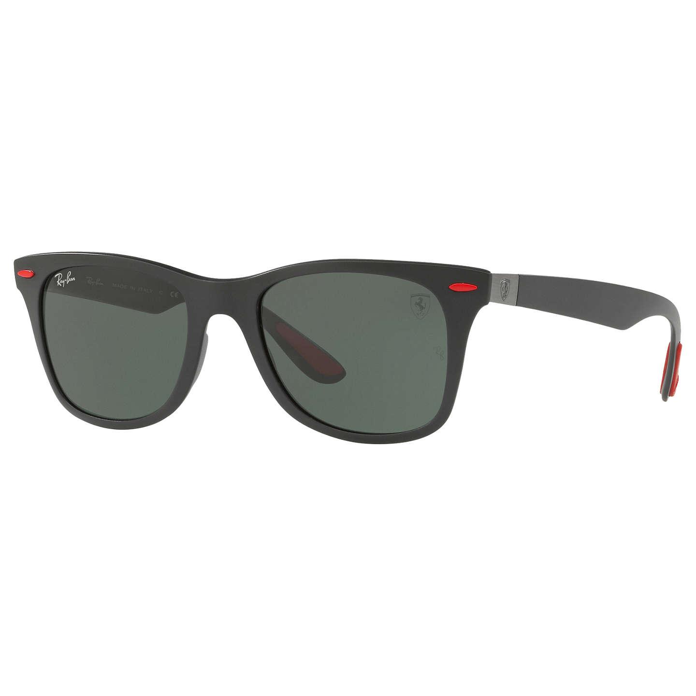 ray ban rb4195m scuderia ferrari wayfarer sunglasses at. Black Bedroom Furniture Sets. Home Design Ideas