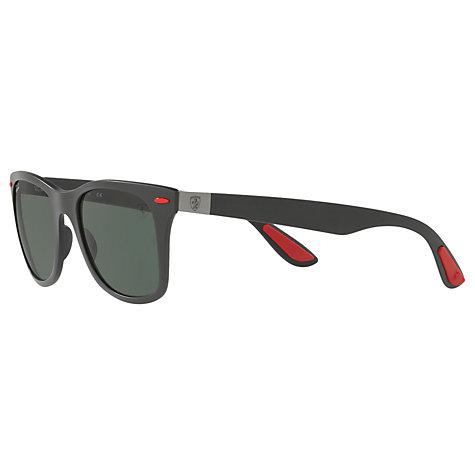 buy ray ban rb4195m scuderia ferrari wayfarer sunglasses. Black Bedroom Furniture Sets. Home Design Ideas