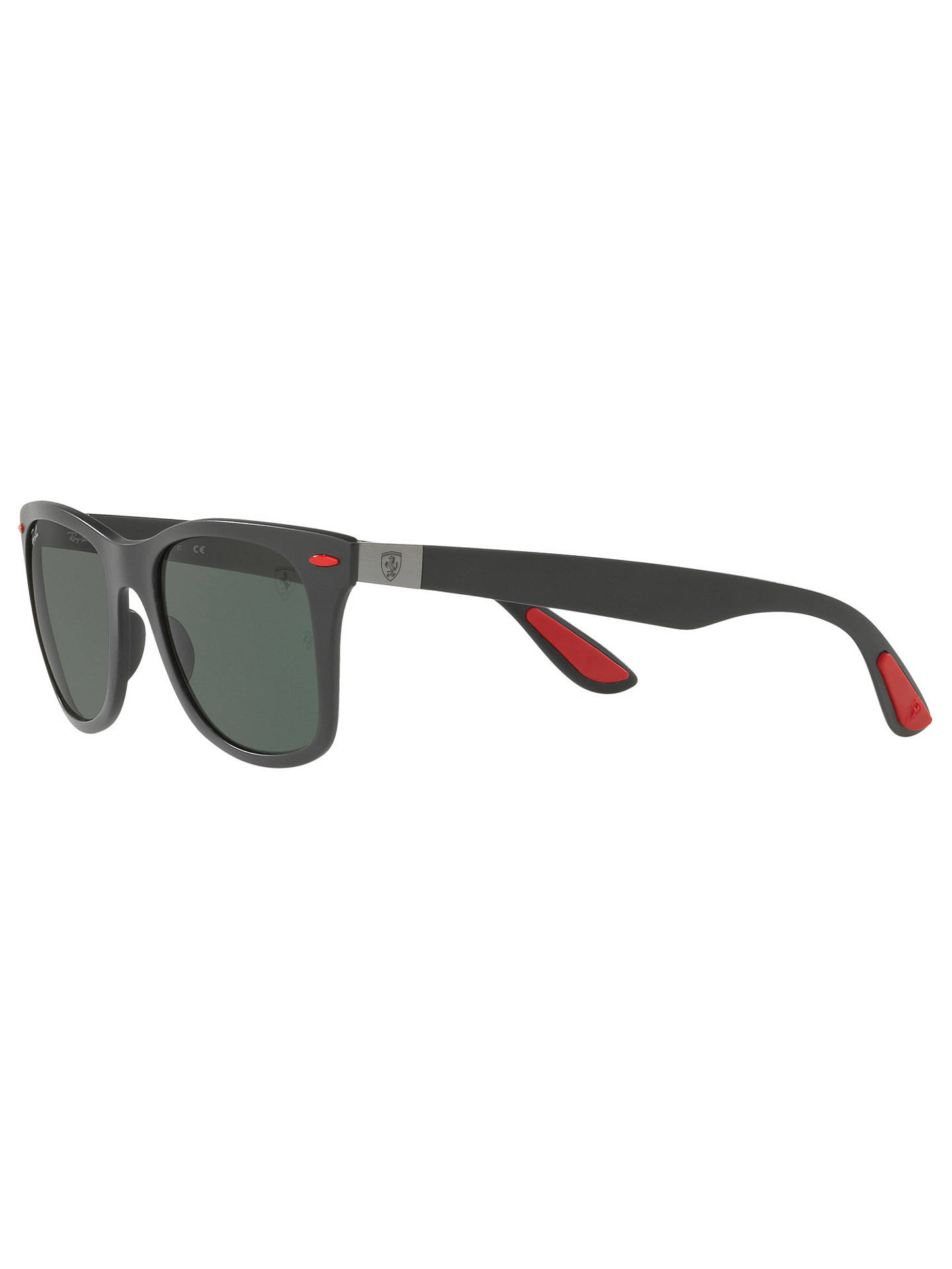 aff1232fa4 ... where can i buy buyray ban rb4195m scuderia ferrari wayfarer sunglasses  black dark green online at