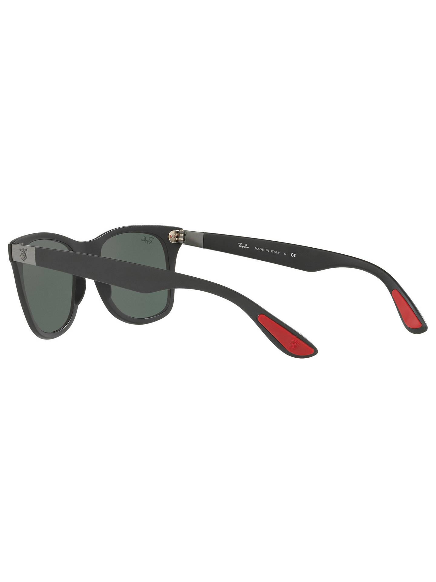 a3aa712cd0 ... where can i buy buyray ban rb4195m scuderia ferrari wayfarer sunglasses  black dark green online at