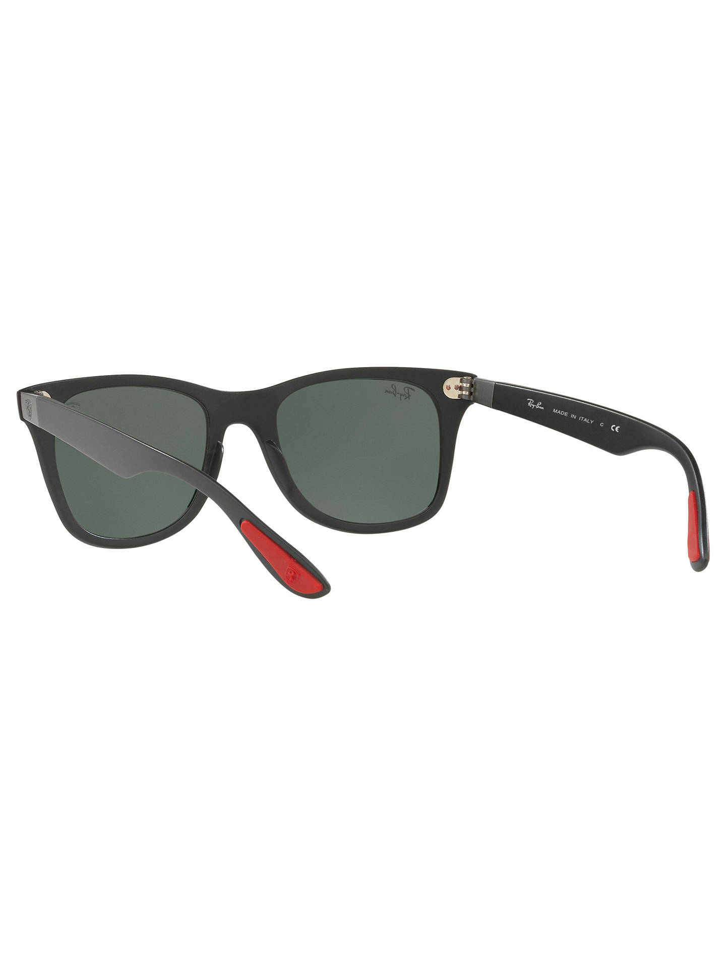 82f1b8dbdb8f8 46b4a 4e59e  where can i buy buyray ban rb4195m scuderia ferrari wayfarer  sunglasses black dark green online at