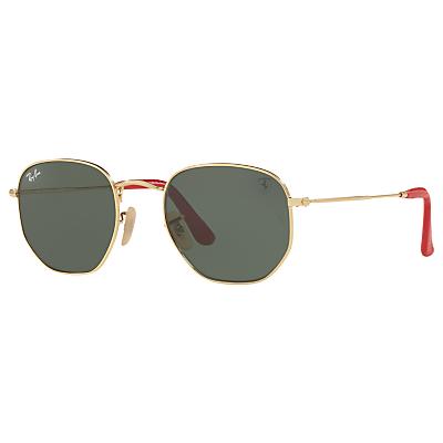Ray-Ban RB3548NM Scuderia Ferrari Square Sunglasses