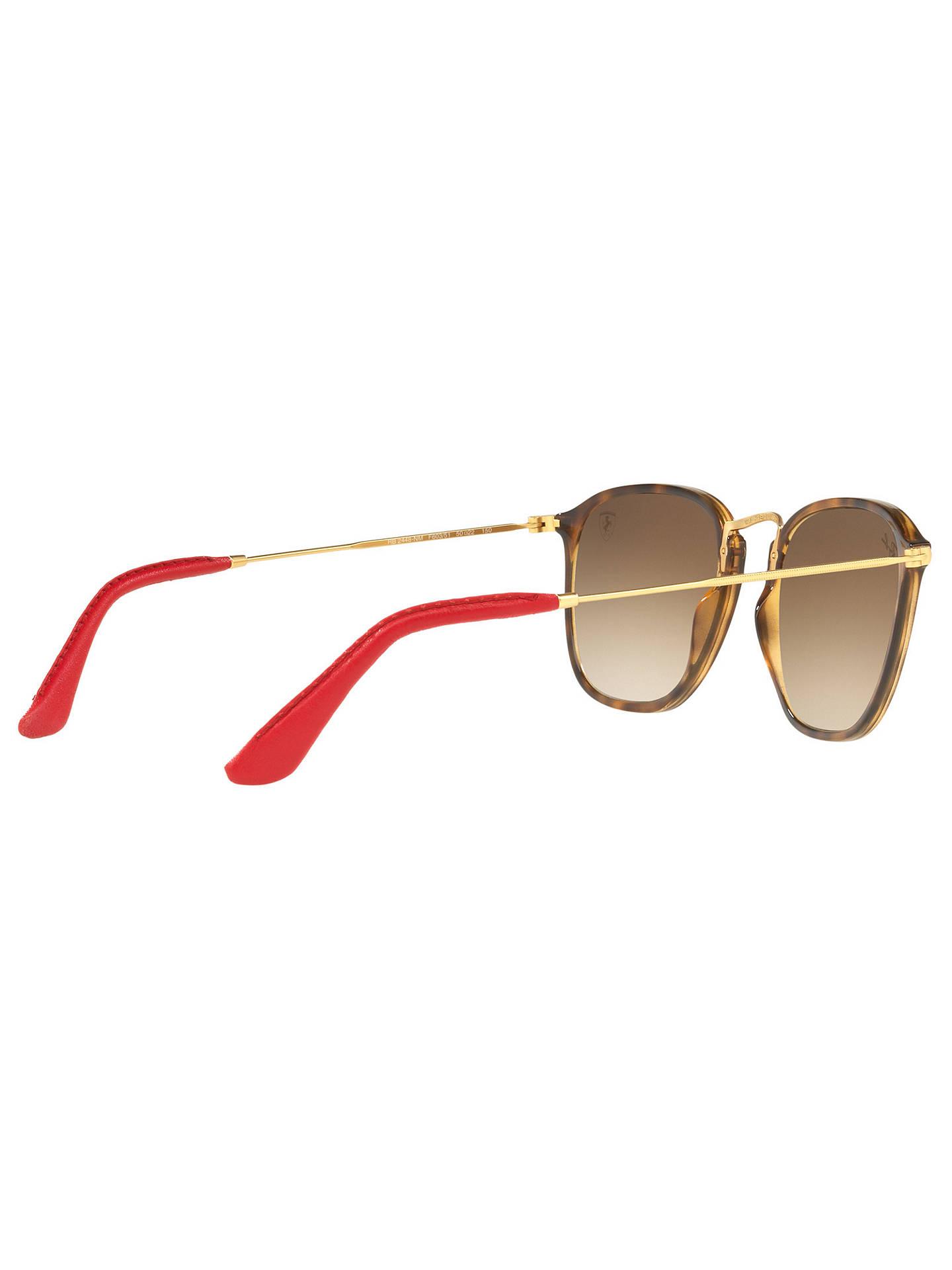 7845653b0053b Ray-Ban RB2448NM Scuderia Ferrari Square Sunglasses at John Lewis ...