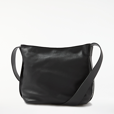 Kin by John Lewis Helen Leather Mini Bucket Bag