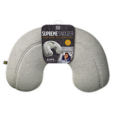 Buy Go Travel Supreme Snoozer Travel Pillow, Assorted Colours Online at johnlewis.com