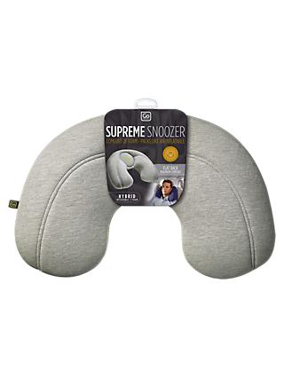 Go Travel Supreme Snoozer Travel Pillow, Assorted Colours