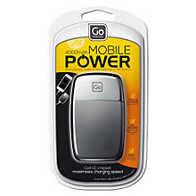 Buy Go Travel 4000mAh Mobile Power Bank Online at johnlewis.com