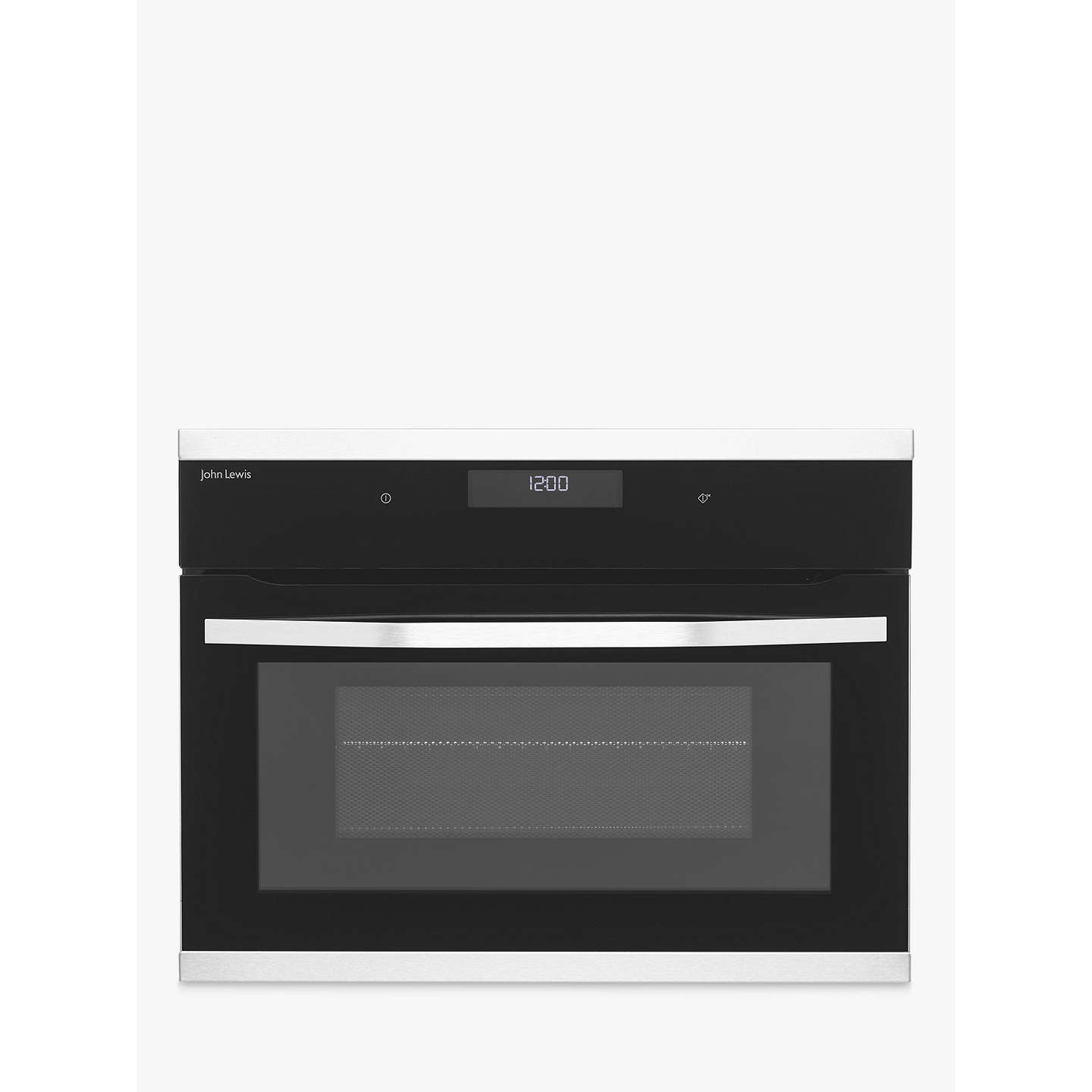 John Lewis JLBICO431 Built-in Combination Microwave Oven, Black ...