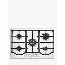 Buy John Lewis JLBIGH754 Gas Hob, Stainless Steel Online at johnlewis.com