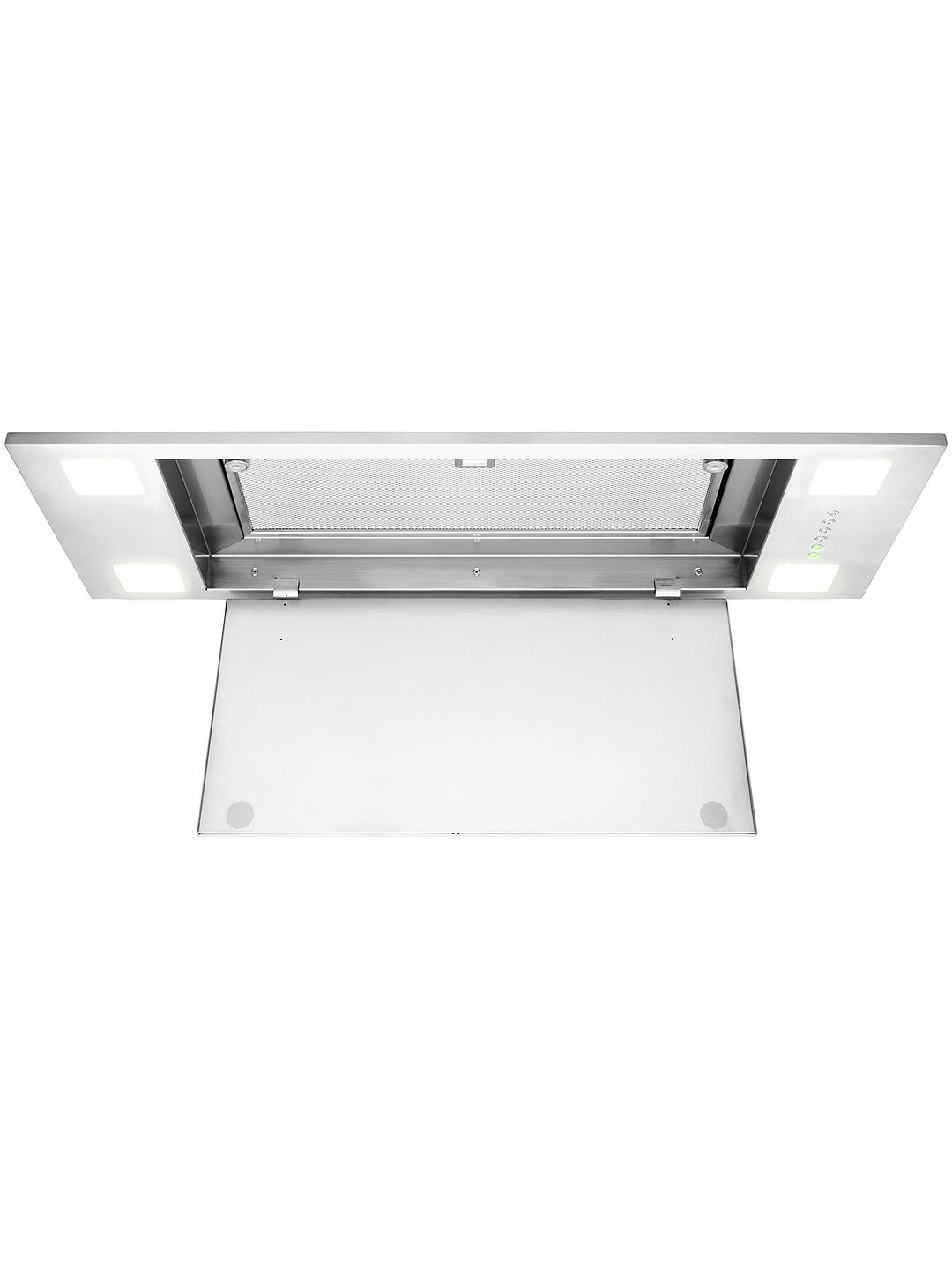 Buy John Lewis & Partners JLCHI901 Canopy Cooker Hood, Stainless Steel Online at johnlewis.com