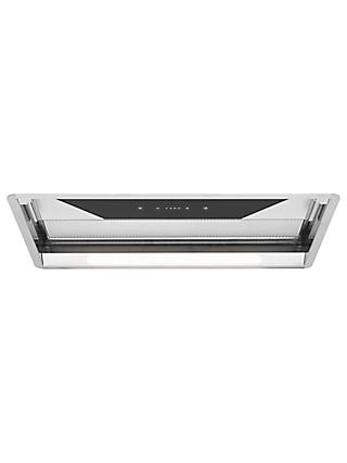 John Lewis & Partners JLCHT8501 Glass Wing Cooker Hood