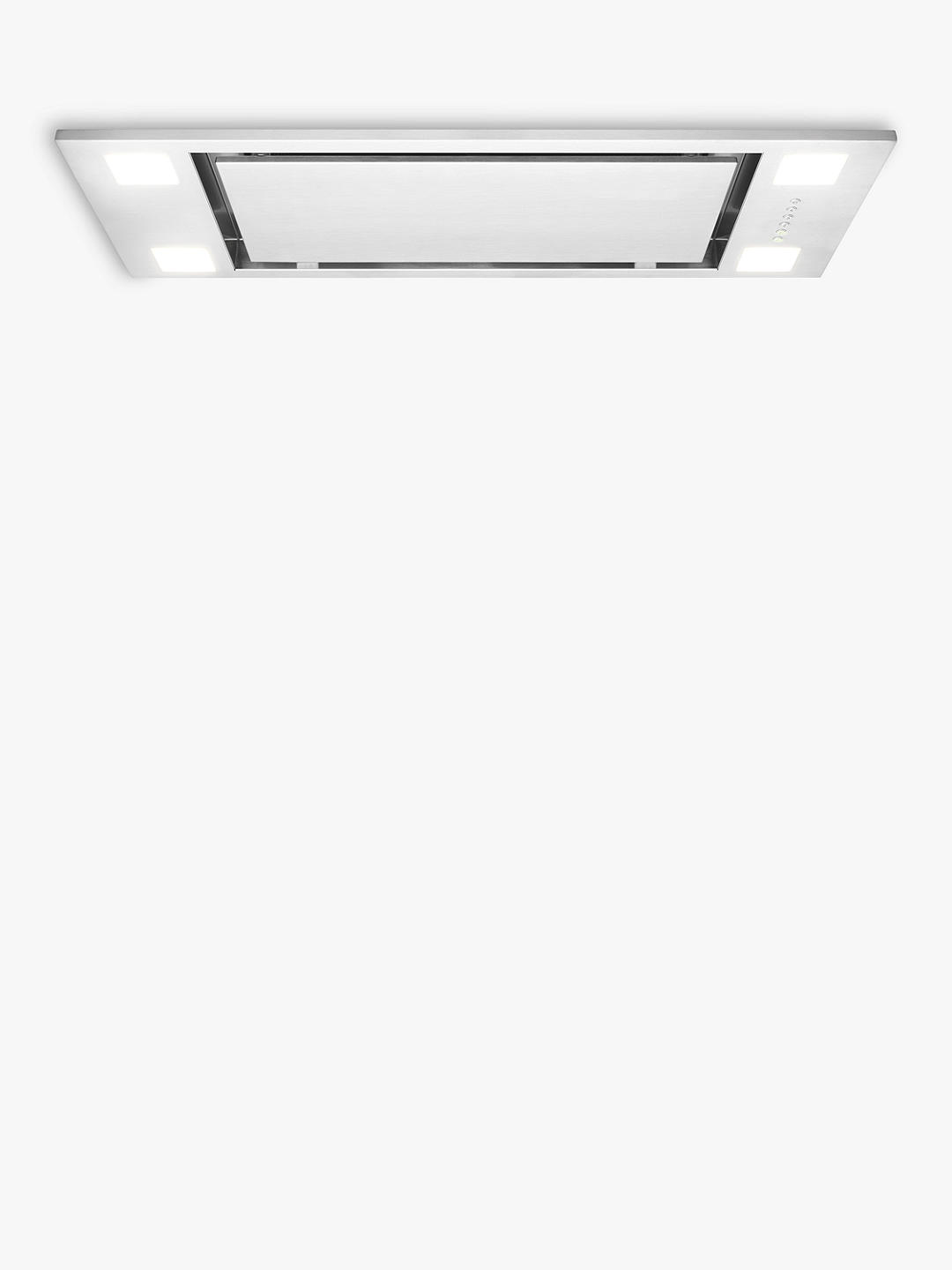 Buy John Lewis & Partners JLCHI701 Canopy Cooker Hood, Stainless Steel Online at johnlewis.com