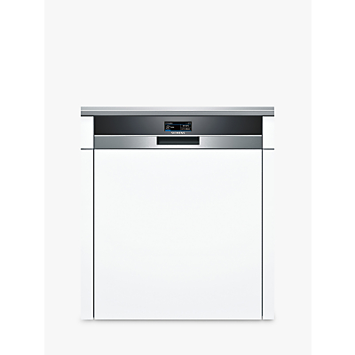 Image of Siemens SN578S36TE Semi-integrated Dishwasher, Stainless Steel