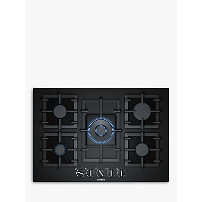 Siemens EP7A6QB90 StepFlame Gas Hob, Black