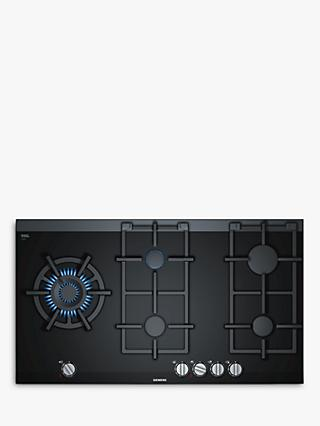 Siemens ER9A6SD70 Gas Hob, Black