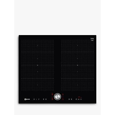 Image of NEFF T56FT60X0 Electric Induction Hob - Black, Black