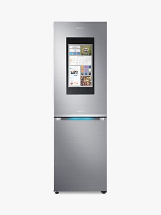 Samsung RB38M7998S4/EU Family Hub™ Smart Freestanding Fridge Freezer, A++ Energy Rating, 60cm Wide, Stainless Steel