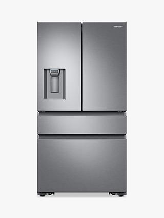 Samsung RF23M8080SR/EU Multi-Door Freestanding 70/30 Fridge Freezer, A+ Energy Rating, 90cm Wide, Stainless Steel