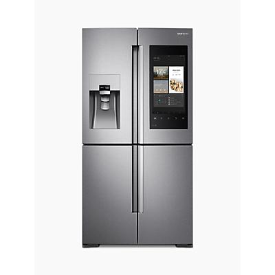 Samsung RF56M9540SR/EU Family Hub™ Smart Fridge Freezer, A+ Energy Rating, 90cm Wide, Stainless Steel