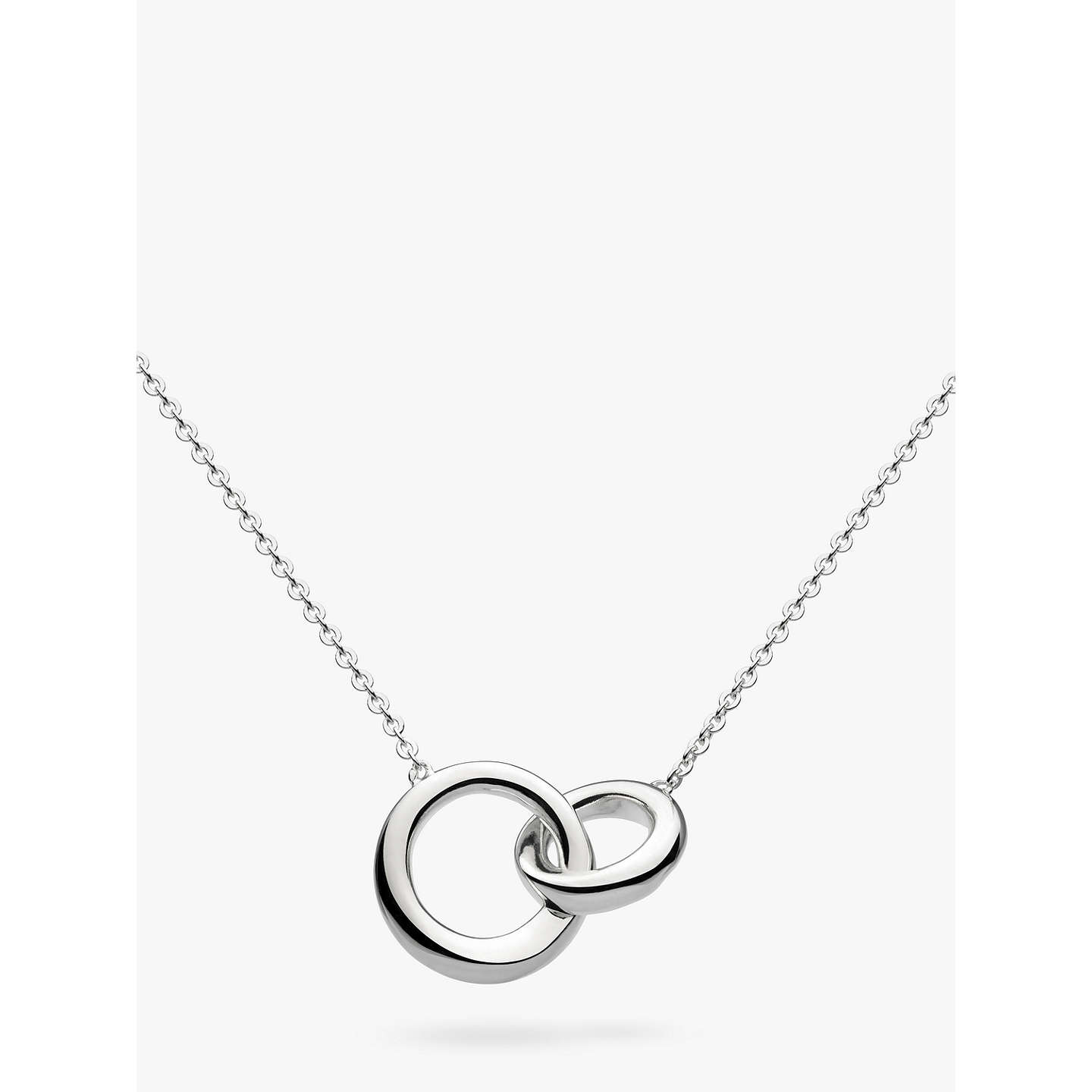 gift com necklace dp pendant entwined for her amazon circle double minimalist couple ring sister interlocking