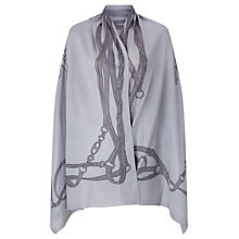 Buy Lauren Ralph Lauren Sonia Wrap, Sterling Grey Online at johnlewis.com