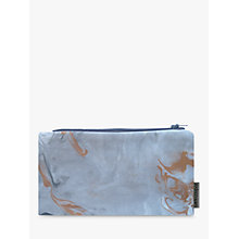 Buy Sami Couper Marble Purse, Grey/Copper Online at johnlewis.com