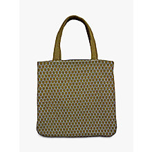Buy Geometric Honeycomb Tote Bag, Gold Online at johnlewis.com