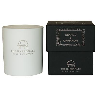 The Harrogate Candle Company Orange & Cinnamon Candle