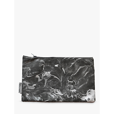 Sami Couper Marble Purse, Silver/Charcoal