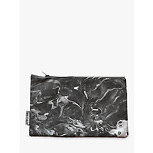 Buy Sami Couper Marble Purse, Silver/Charcoal Online at johnlewis.com