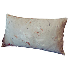 Buy Sami Couper Marble Rectangular Cushion, Grey/Copper Online at johnlewis.com