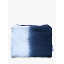 Buy Sami Couper Linen Ombre Purse, Navy Online at johnlewis.com