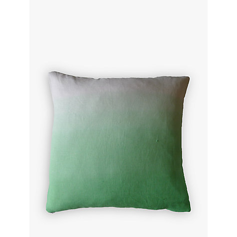 Buy Sami Couper Linen Ombre Small Cushion, Mint Online at johnlewis.com
