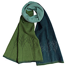 Buy Sprig Tree Block Wool Scarf Online at johnlewis.com
