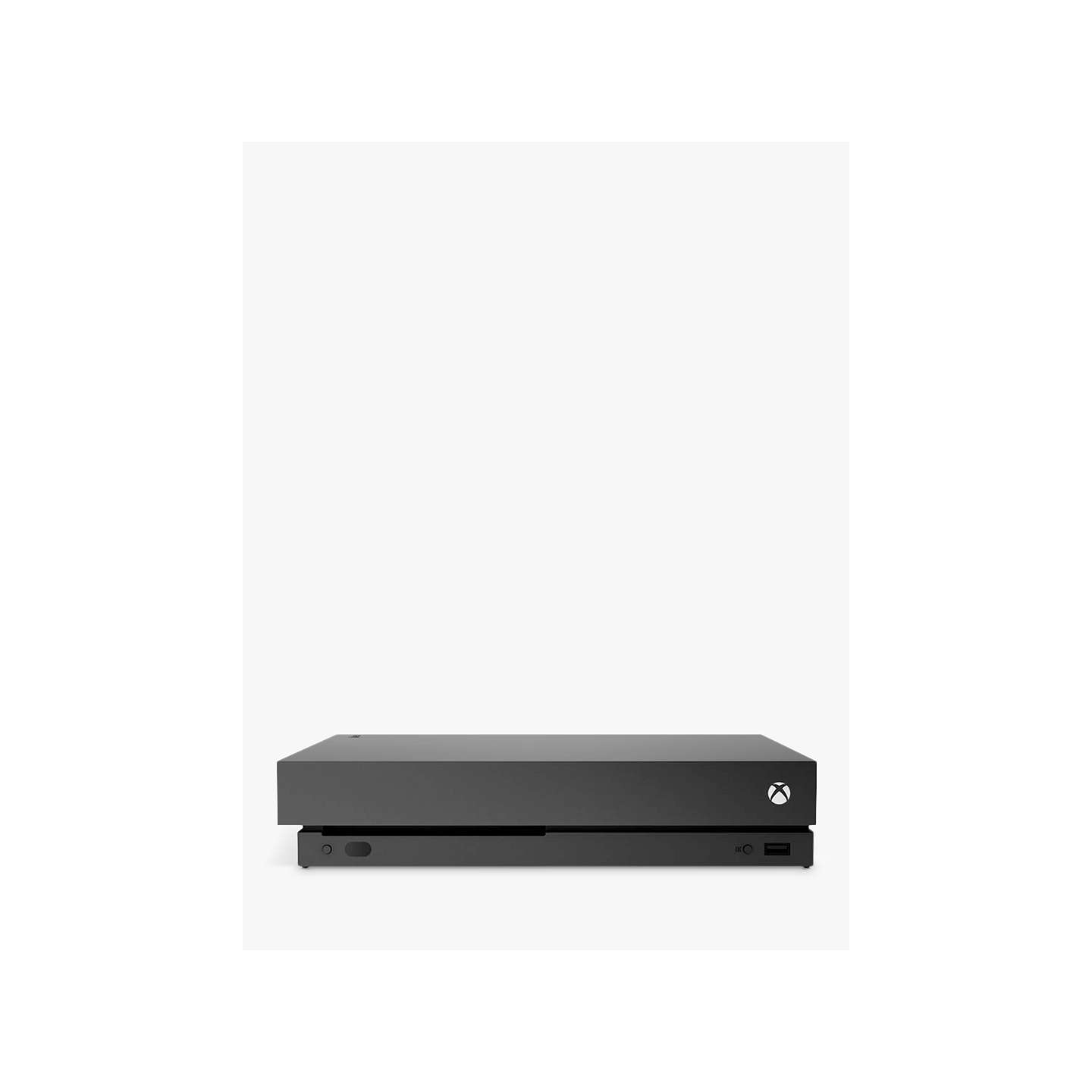 BuyMicrosoft Xbox One X Console, 1TB, with Wireless Controller, Black Online at johnlewis.com