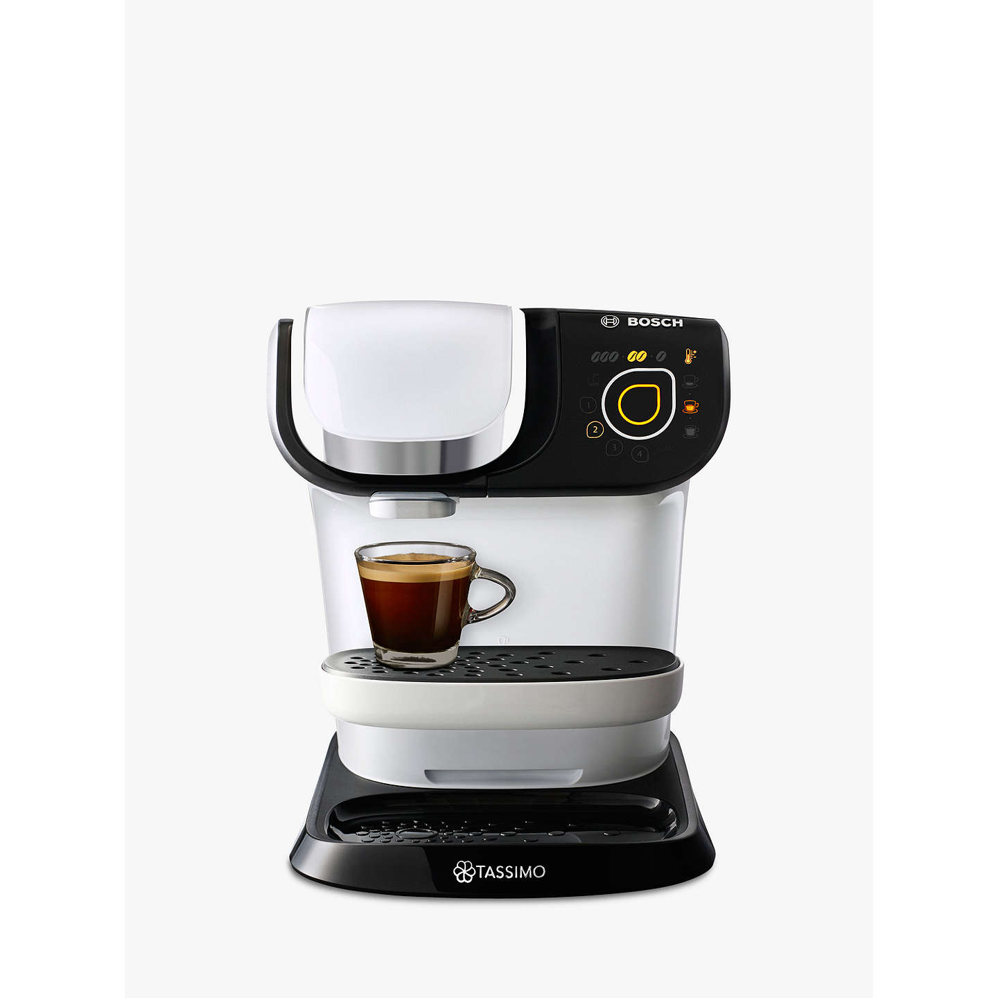 tassimo my way coffee machine by bosch at john lewis. Black Bedroom Furniture Sets. Home Design Ideas