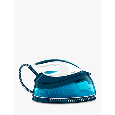 Philips GC7805/20 PerfectCare Compact Steam Generator Iron, Blue