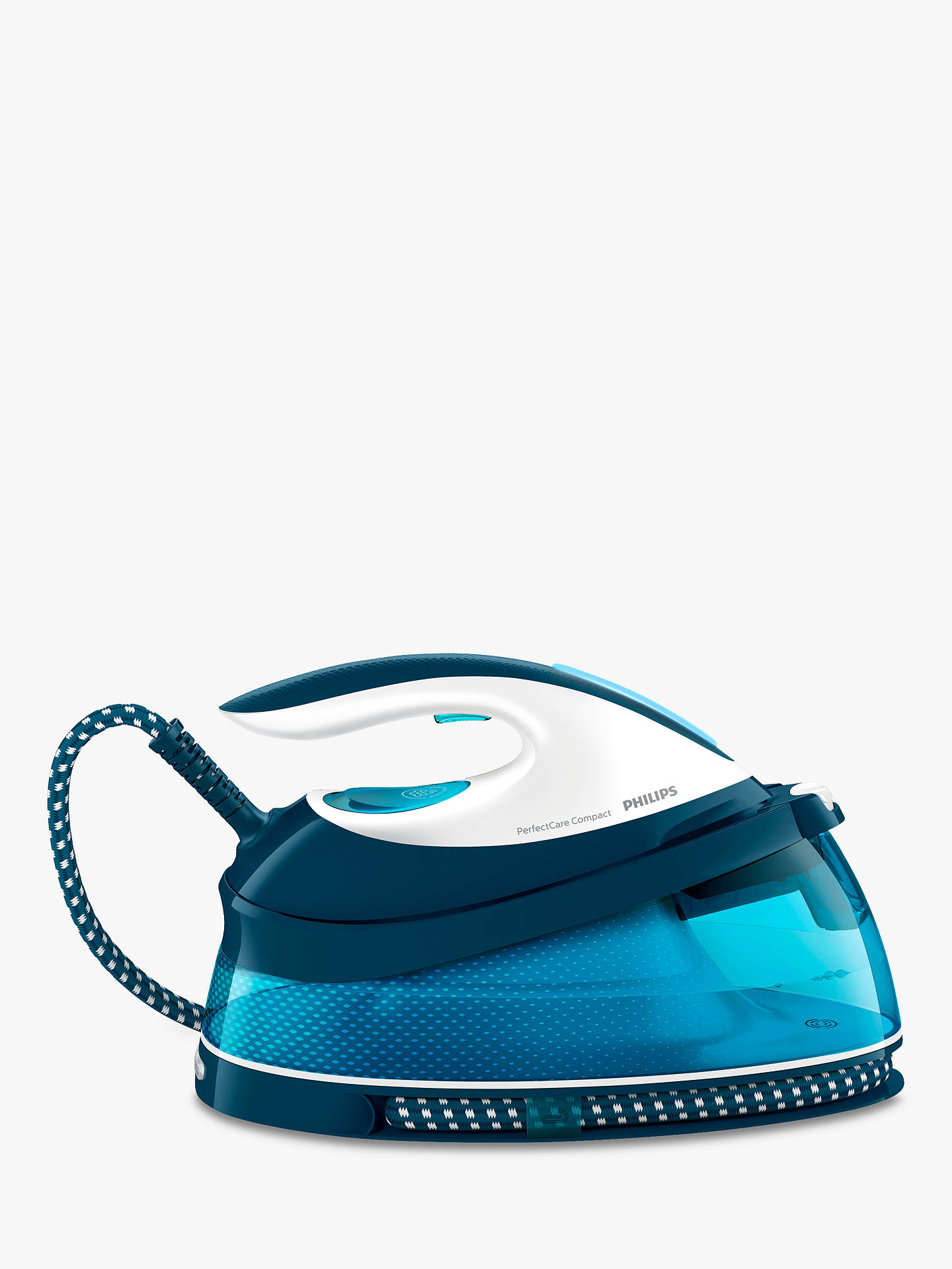 Philips GC7805/20 PerfectCare Compact Steam Generator Iron, Blue at ...