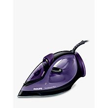 Buy Philips GC2045/80 EasySpeed Steam Iron, Black/Purple Online at johnlewis.com
