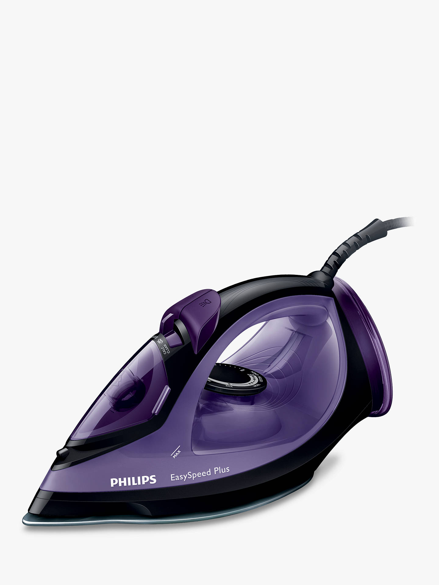 philips gc2045 80 easyspeed steam iron black purple at. Black Bedroom Furniture Sets. Home Design Ideas